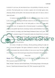 cause and effect capital punishment essay example topics and  cause and effect capital punishment essay example