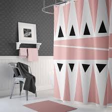 Pink Shower Curtain Modern Shower Curtain TheGretest