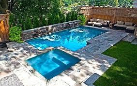Backyard Pool Designs For Small Yards Inspiration Pool In Backyard Record Chronicle Pool Backyard Ideas