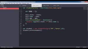 Javascript Factory Pattern