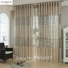 living room sheer window treatments. Interesting Living XYZLS Modern Strip Window Curtains For Living Room Sheer Curtain Panels  Treatments Luxury Draperies With