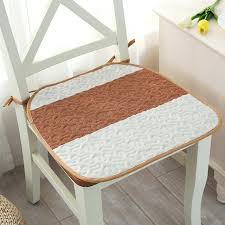 dining chair seat cushions summer thin cotton linen chair seat cushion square cloth dining chair pads