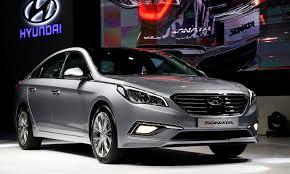 new smart car release date2017 Hyundai Sonata front view autoshow picture  Automotive