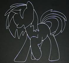 Wire Art Vinyl Scratch Wire Art By Databytebrony On Deviantart