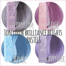 Ion Permanent Hair Color Instructions Ion Color Brilliance