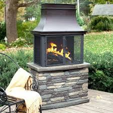 mexican clay chiminea outdoor fireplace wood burning fireplaces large