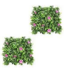 garden mats.  Mats Green PP U0026 PVC Artificial Vertical Garden Mats By Wonderland  Set  Throughout T