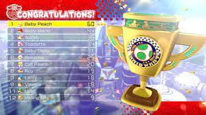 Mario Kart 8 Deluxe - 200cc Egg Cup (3 Star Rank) - YouTube