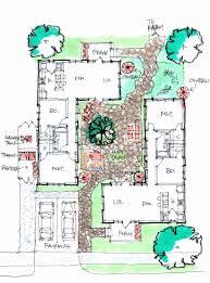 mediterranean courtyard home plans unique stunning mediterranean house plans with courtyards gallery plan 3d