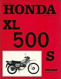 xl500s manual service repair honda