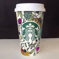 starbucks coffee cup drawing. Plain Cup Starbucks Coffee Cup Drawing Design Starbucks Coffee Cup Design Drawing   Inside E