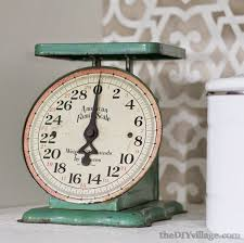 Small Picture Decorating with Heirlooms Vintage Scale Noting Grace