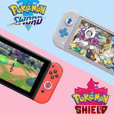 Amazon.com: LeyuSmart Thumb Grip Caps for Pokemon Sword and Shield Theme,  Joystick Cap for Nintendo Switch & Lite, Soft Silicone Cover for Joy-Con  Controller (Shield & Sword): Computers & Accessories