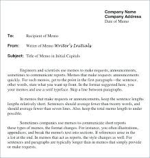 Memo Example For Business Internal Proposal Template Proposal Memo Examples Samples