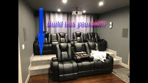 home theater riser platform. Contemporary Theater DIY HOME THEATER RISER  Build Your Own Movie Room Seating Platform Cheap  And Easy To Home Theater Riser T