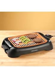 inspirational countertop electric grill and nonstick ceramic copper 13 countertop electric grill by home marketplace 75