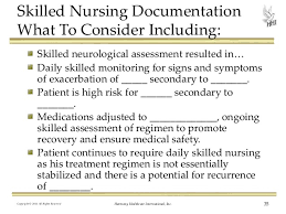 Skilled Nursing Charting Examples Nursing Documentation Do Your Medical Records Support