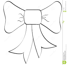 Small Picture Best Photos of Cheer Bow Outline Christmas Bow Clip Art Black
