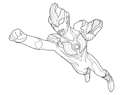 perfect ultraman colouring pages cool inspiring ideas