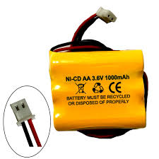 Emergency Light Battery Replacement 3 6v 1000mah Exit Sign Emergency Light Nicad Battery