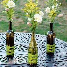 ... Wine Bottle Centerpieces