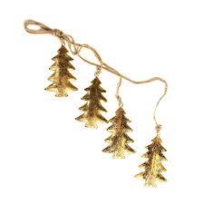 Купить <b>Гирлянда подвесная Golden</b> Trees, 4 шт., <b>EnjoyMe</b> (арт ...