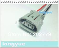 popular cable alternatives buy cheap cable alternatives lots from longyue 20pcs universal alternator repair sockets for denso oval denso toyota suzuki 3 pin connectors harness