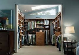 Walk in closet Diy Closet With Lots Of Natural Daylight Anyway Doors Walk In Closet Wardrobe Systems Guide Gentlemans Gazette