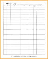 Printable Mileage Chart Mileage Chart Template Printable Mileage Calculator Example