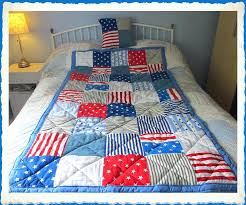 Go West American Style Patchwork Quilts American Style Patchwork ... & ... Boys American Style Patchwork Eiderdown Quilt With Starsstripes And  Ticking American Style Patchwork Quilts Uk American Adamdwight.com