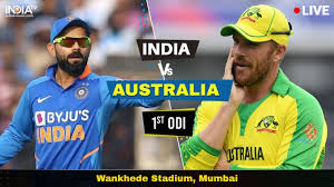 Live Streaming Cricket India vs Australia, 1st ODI: Watch IND vs AUS live  cricket match online on Hotstar | Cricket News – India TV