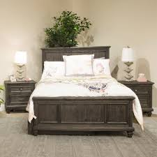 wood panel bed. Calistoga Youth Wood Panel Bed In Weathered Charcoal