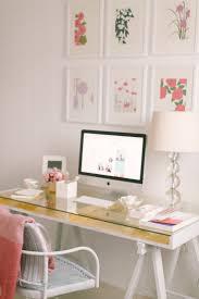 home office glass desk. Small Home Office Design Ideas - Glass Desk