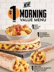 taco bell breakfast. Plain Breakfast Taco Bellu0027s New 1 Breakfast Menu Inside Bell Breakfast S