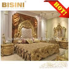 Royal Furniture Design Baroque Expensive Wood Hand Carved Royal Furniture Gold