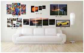 wall art decor prints sizes