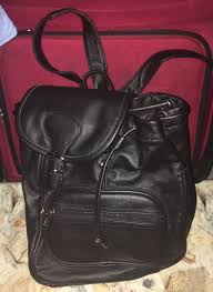 amerileather leather backpack women s las bag purse