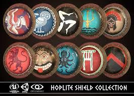 Greek Hoplite Shield Designs Hoplite Shield Collection 2