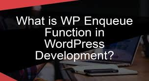 what is wp enqueue function in