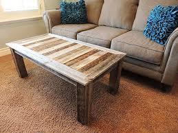 style rustic barnwood coffee table furniture ideas