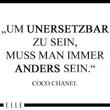 Coco Chanel Das Brauchst Du In Deinem Schrank Zitate