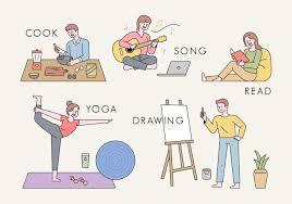 People who do hobbies. 1924806 - Download Free Vectors, Clipart Graphics &  Vector Art