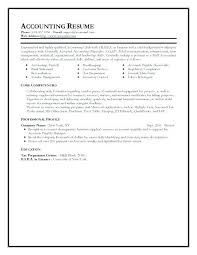 Resume Format For Accountant Classy Accountant Resume Pdf Chartered Antiquechairsco
