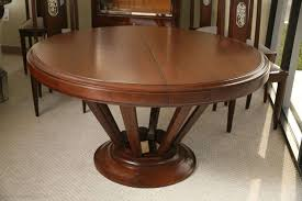 round dining table art deco the table opens up to 14feet longt