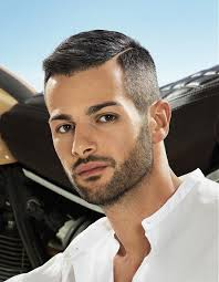 Hairstyle For Male short sideparting straight hairstyle haircut for men hair 3614 by stevesalt.us