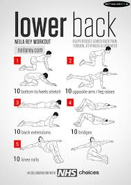 Back Exercises Gym Chart Pin By Marissa Miller On Exercise Lower Back Exercises