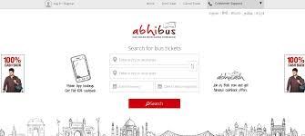 top best online bus ticket booking websites most popular abhibus top 10 best online bus ticket booking
