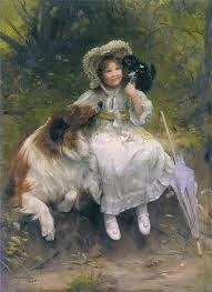 he won t hurt you arthur john elsley private collection cats in art find this pin and more on charles burton barber