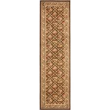 safavieh lyndhurst brown 2 ft x 16 ft runner rug