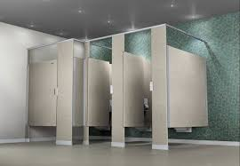 Commercial Bathroom Partition Walls Painting